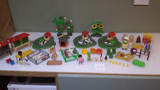 PLAYMOBIL SPARES FARM SET SMALL ANIMALS X 40 & 5 KLICKIES AS SEEN GOOD CONDITION