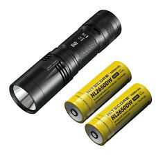 Nitecore R40 Rechargeable Flashlight -1000Lm w/Charging Dock & 2x Batteries
