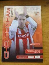 25/03/2006 Cheltenham Town V Rushden y diamantes [última temporada de la Liga]. artículo en