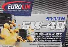 Motoröl Öl 5W/40 5W40 20 Liter BMW Longlife01 VW 502.00 / 505.00 Porsche A40 20l