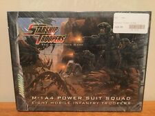 Starship Troopers The Miniatures Game M-1A4 Power Suit Squad Box MGP 910001 MINT