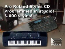 6000 stili E500 E300 E600 KR-570 KR-770 KR-1070 roland styles style collection