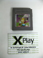 GB Game Boy Simpsoms Bart vs the Juggernauts Solo cartucho Pal Esp Buen estado