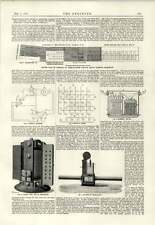 1889 Kensington Electric Light Supply Company Convertors Regulators