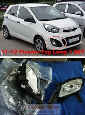 2011 ~2012 KIA Morning Picanto fog lamp light & cover & wire 1set Genuine Parts