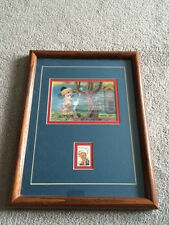 The Crafty Dutchman Walt Disney Mickey Mouse Postage Stamp Framed Art