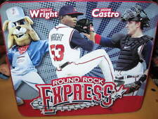 Preown Metal LUNCH BOX Round Rock EXPRESS baseball minors MRS BAIRDS