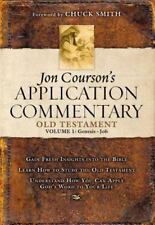 Jon Courson's Application Commentary: Volume 1, Old Testament, (Genesis-Job) by