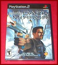 Syphon Filter Dark Mirror for the Sony Playstation 2 PS2 System NEW SEALED
