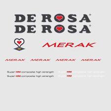 DE Rosa Merak Bicicletta Decalcomanie, trasferimenti, ADESIVI n.4