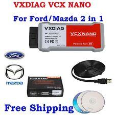 Multilanguage VXDIAG VCX NANO Diagnostic Tool 2 in 1 For Mazda IDS V100.01
