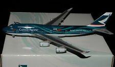 "HERPA WINGS 1/400 B747-400 CATHAY PACIFIC B-HOY "" ASIA'S WORLD CITY """