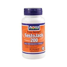 NOW Foods Testojack 200 60 Vcaps Tongkat Ali Maca Root Tribulus Terrestris 09/18