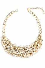 TALBOT'S PEARL BEAD CLUSTER NECKLACE--NEW WITH TAG