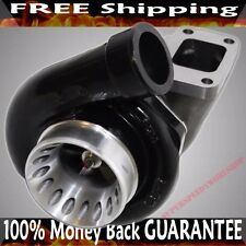 BLACK GT35 GT3582 T3 AR.70/82 ANTI-SURGE COMPRESSOR TURBINE PSI BEARING TURBO