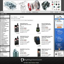 Auto Car Parts Website FREE Domain Automated Amazon Affilliate Adsense