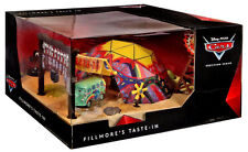 NEW Disney Pixar CARS Fillmore's Taste-In Cafe Light-UP Playset Precision Series