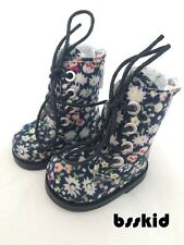 "Y04 BJD Yo-SD 1/6 Dollfie 13"" Effner Floral White LITTLE DARLING Doll Boot"