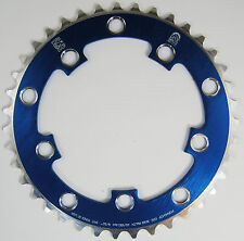 Porkchop BMX single speed bicycle Chop Saw II Chainring 39T 110/130mm bcd BLUE
