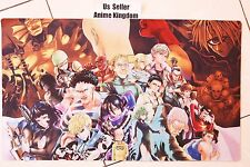 USA Seller Custom Yugioh Playmat Play Mat Mouse Pad one punch man Main Hero #618