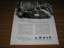 1954 Print Ad Stromberg-Carlson Radar on US Aircraft Carrier Rochester,NY