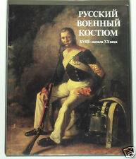 BOOK Russian Military Uniforms infantry history painting army war Napoleon czar