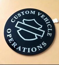 HARLEY Custom Vehicle Operations CVO Screamin' Eagle Medallion Emblem LAST UNIT