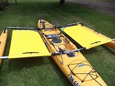 2014 and earlier Hobie  Adventure  island  Kayak Side Trampoline  yellow