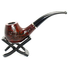 Durable Enchase Wood Wooden Smoking Smoke Pipe Tobacco Cigarettes 705 Gayly