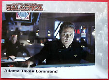 Battlestar galactica-premiere edition-carte #36 - adama takes command