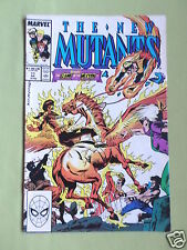 THE NEW MUTANTS- MARVEL COMIC - VOL 1  #77 - JUNE 1989