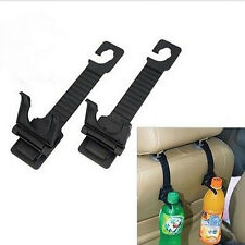 1  pair Auto Car Seat Back Hanger Bottle Bag Holder Hook Interior Accessories