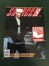 The Source Vintage Hip-Hop Magazine Issue October 1990 LL Cool J