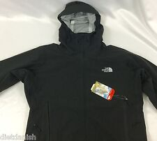The North Face Men's Leonidas Outdoor Waterproof Hooded Black Jacket Size S