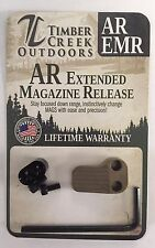 TIMBER CREEK OUTDOORS - CERAKOTE FDE (FLAT DARK EARTH) EXTENDED MAGAZINE RELEASE