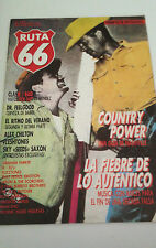 "REVISTA ""RUTA 66 NUMERO 10"" EN MUY BUEN ESTADO CLASH DR FEELGOOD FLESHTONES"