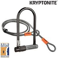 Kryptonite Series 2 Kryptolok D / U Bike Lock and 4ft Cable Sold Secure