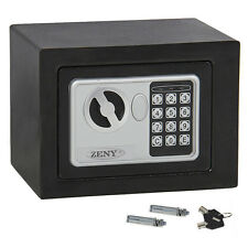 Electronic Safety Box Security Home Office Digital Lock Jewelry Black Safe Money