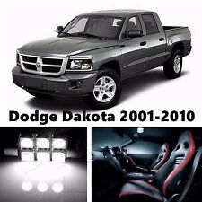 11pcs LED Xenon White Light Interior Package Kit for Dodge Dakota 2001-2010