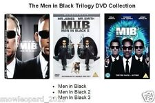 MEN IN BLACK TRILOGY DVD TRIPLE PACK SET PART 1 2 3 WILL SMITH Box New UK