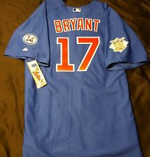 Authentic! Majestic, SZ. 60 4XL, CHICAGO CUBS, BLUE, KRIS BRYANT ON FIELD JERSEY