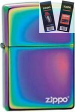 Zippo 151zl spectrum with Lighter with *FLINT & WICK GIFT SET*