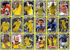 Chelsea Football 2009 FA Cup final winners football trading cards