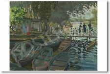 Claude Monet - Bathers at La Grenouillere 1869 - NEW French Art Print POSTER