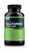 NEW Optimum Nutrition Glutamine 1000mg 60 Capsules FREE SHIPPING