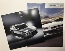 Nissan GTR Brochure And Poster great gift for any owner, fan, or collector