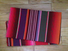 1 Yard Mexican Sarape Serape Fiesta Fabric Quilt Fabric  Red