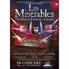 Les Miserables - 25th Anniversary (DVD, 2010) FREE SHIPPING