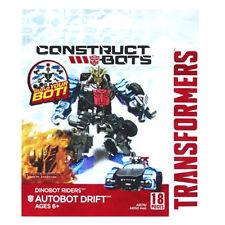 TRANSFORMERS Age of Extinction Construct-Bots Dinobot Rider Autobots Drift