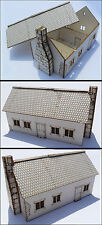 WARGAMES SCENERY/TERRAIN - 1X Farmhouse - 15 mm scale